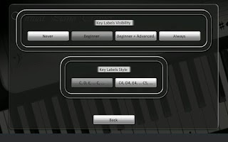 Screenshot of Virtual Piano Trainer