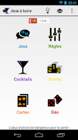 Screenshot of Drinking games