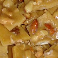 Mixed Nut Peanut Brittle