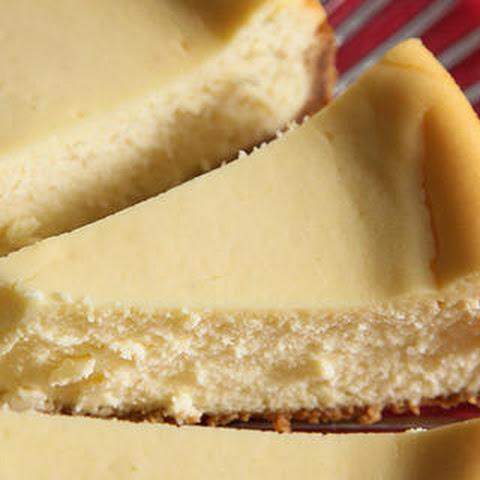Orange-Vanilla Ricotta Cheesecake