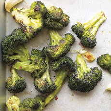 Roasted Broccoli with Garlic and Chile