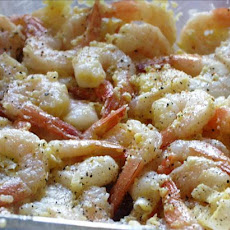 Butterflied Grilled Garlic Shrimp