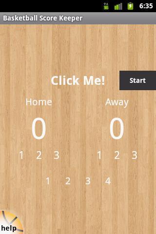 Basketball Score Keeper
