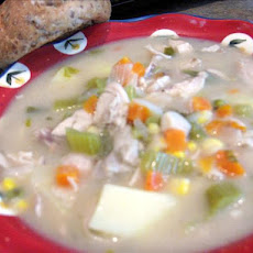 Chicken & Dumplings (Or Easy Chicken Stew - Minus the Dumpli