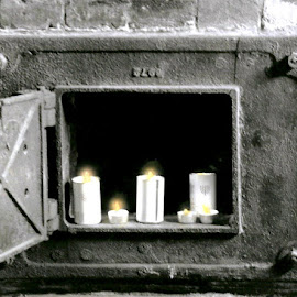 ZACHOR by Jody Frankel - News & Events Disasters ( world war ii, yahrzeit candle, crematorium, zachor, concentration camp, ovens, holocaust, poland )