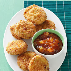 Curried Potato Fritters
