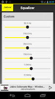 Screenshot of Jabra Sound (ComplementaryApp)