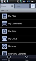 Screenshot of File Expert ClassicBlack Theme
