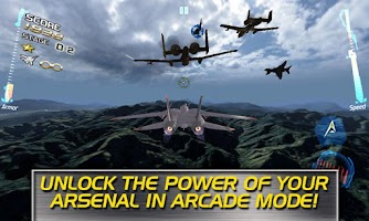 Screenshot of After Burner Climax