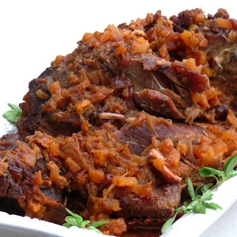 Slow-Cooker Italian Pork Roast Recipe | Yummly