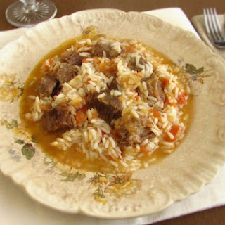 Meat Stewed With Rice