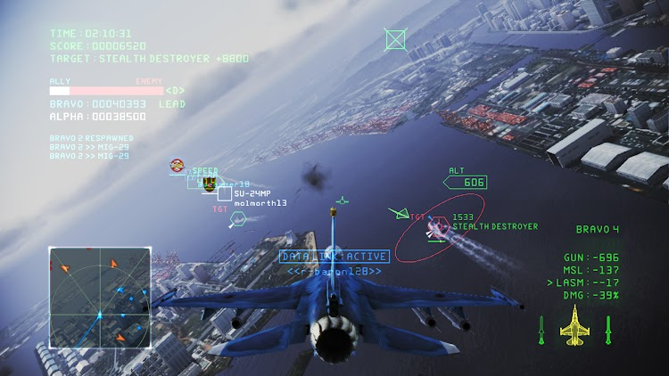 Ace Combat Infinity to take off next month