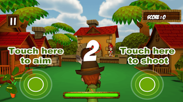 Screenshot of Fruit Cowboy Shooting Slash