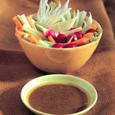 Anchoïade with Radishes, Fennel, Celery and Carrots