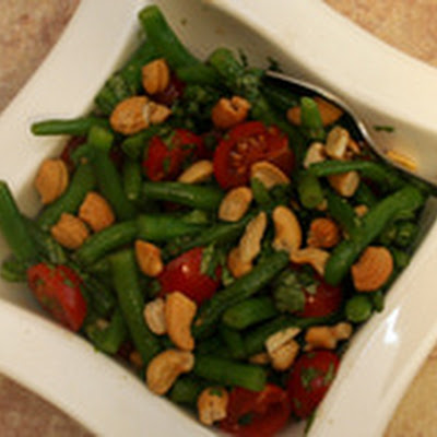 Thai-Style Green Bean and Tomato Salad