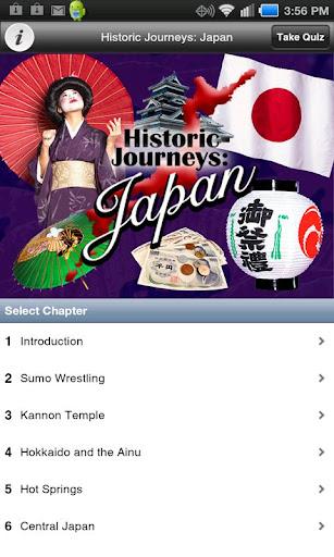 Historic Journeys: Japan