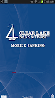 Screenshot of Clear Lake Bank & Trust Mobile