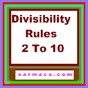 Divisibility Rules 2 to 10