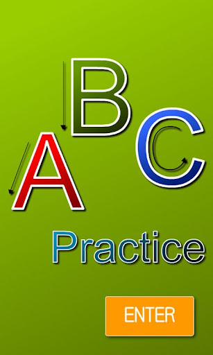 英文字母筆畫練習