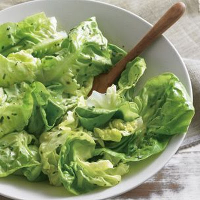Butter Lettuce with Mustard Vinaigrette
