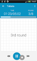 Screenshot of HIIT - interval training timer