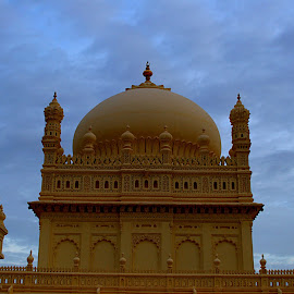 Mughal Structure by Vijayanand K - Buildings & Architecture Places of Worship ( building, mosque, architecture, mughal, worship,  )