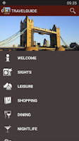 Screenshot of London Travel Guide - Tourias