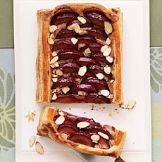Almond-Plum Tart