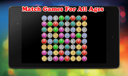 Cryptocoins Match Jewels - screenshot