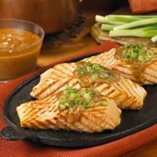 Salmon Peanut Sauce Recipes
