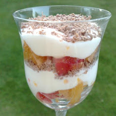 Bourbon Fruit Layer Dessert