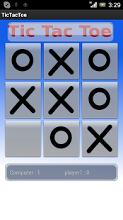 TicTacToe 2014 - screenshot