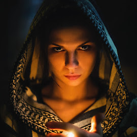 Flame by Igor Prusac - People Portraits of Women