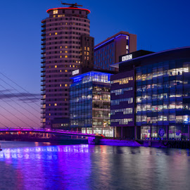 media city by Shakir Sharif - Digital Art Places ( uk, mediacity, nikon d7100, salford, manchester )