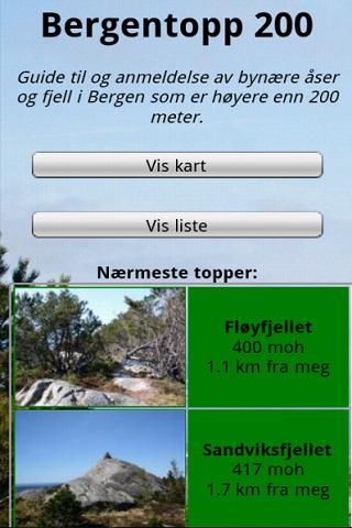 Bergentopp 200