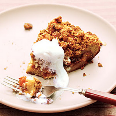 Streusel-Topped French Toast Casserole with Fruit Compote