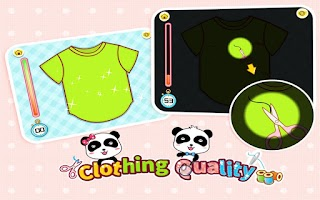 Screenshot of Clothing Quality by BabyBus