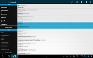 Screenshot of Simpletask