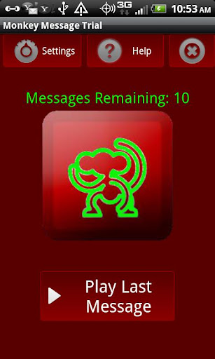 Monkey Message Trial