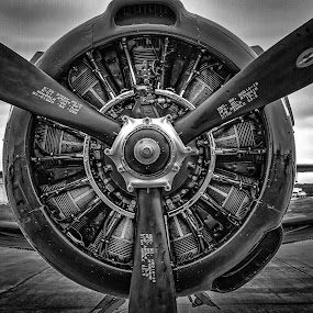 The Business End by Ron Meyers - Black & White Objects & Still Life