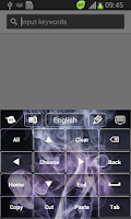 Screenshot of Smoke Keyboard