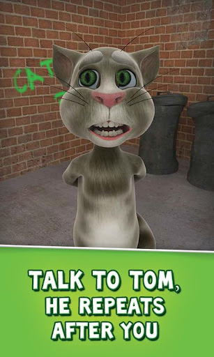 talking-tom-cat-free for android screenshot