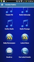 Screenshot of Croatian Radios