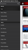 Screenshot of CNET France