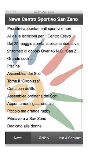 San Zeno App