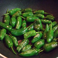 Noelia's Original Spanish Recipe for Padron Peppers