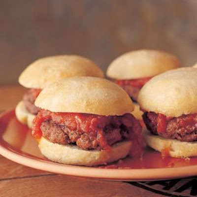 Mini Burgers with Smoky Tomato Chutney