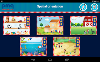 Screenshot of Spatial orientation