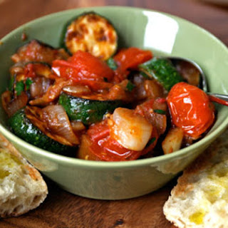 Ratatouille with Grilled Bread