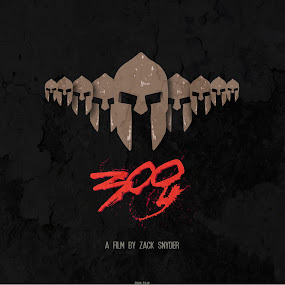 300 Artwork by Adnan Aslam - Illustration Cartoons & Characters ( movies, hollywood, films )